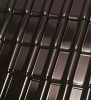 Monza Plus Tobago sort glasert takstein