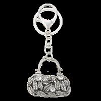 Nyckelring väska bling