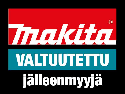 Makita - Klikkaa logoa niin pääset yrityksen verkkosivuille.
