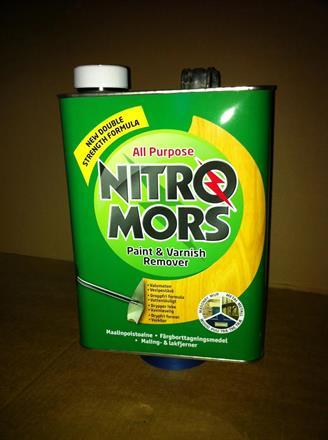 NITROMORS effektiv och snabb lack-och färgborttagning