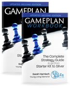 Gameplan book (senaste) & workbook