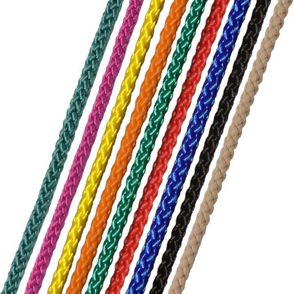 PP-silke 8-fl, svart, 2mm