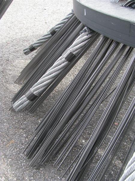 Ogräsborste G1, Stål + Wire