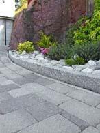 Kantstein granitt 7x15x50 cm