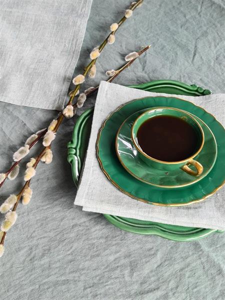 Lina linserviett grønn