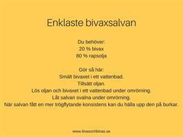 Recept bivaxsalva