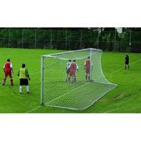 Fotbollsnät, 5-manna,100mm maska, 4 mm, Grönt