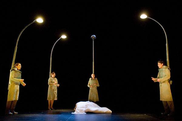 Electrical Birds - Dance Theatre, Hålogaland Theatre, Choreographer: Katrine Bølstad, Costume design: Christina Lovery