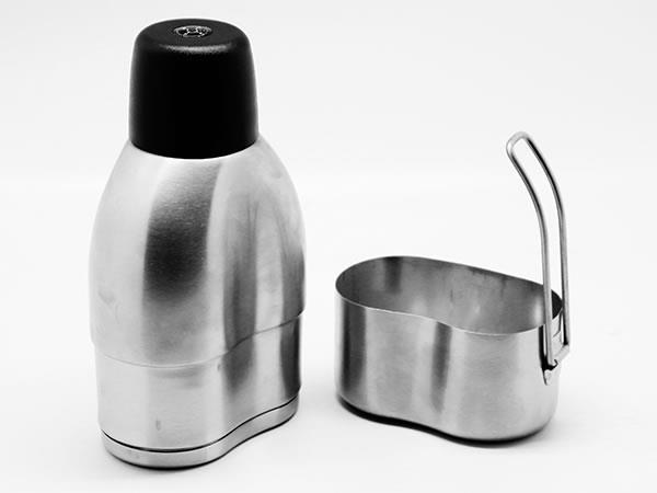 Ståltermos med kokkärl 750 ml.