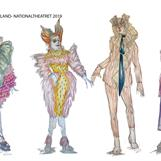 Alice in wonderland - Nationaltheatret- Director: Mads Bones - 2019 - Costume Design: Christina Lovery