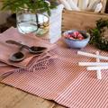 TORA bordløper i lin rød