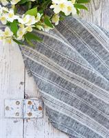 NICOLINE kjøkkenhåndkle grå
