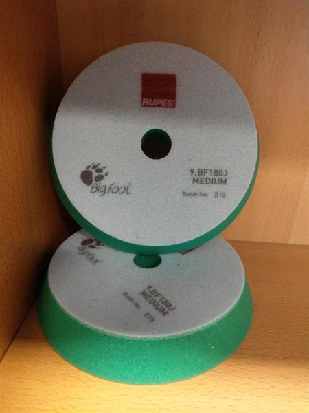 Polerpute Grønn (Medium) Kombi polering/rubbing