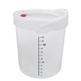 Jäshink med lock 15 liter