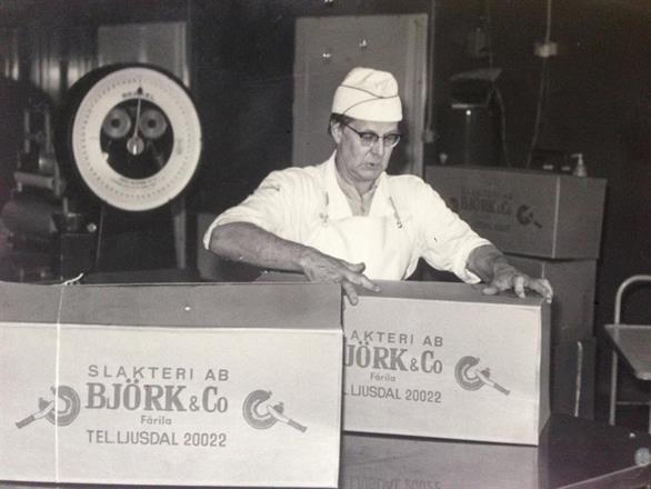 Oscar Berqvist, 50 år i företaget
