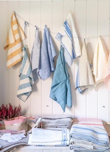 Linspirasjon - blogg om lin og tradisjoner - derfor egner lin seg så godt som kjøkkenhåndkle