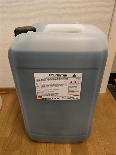 Polyester 30 kg Kanne