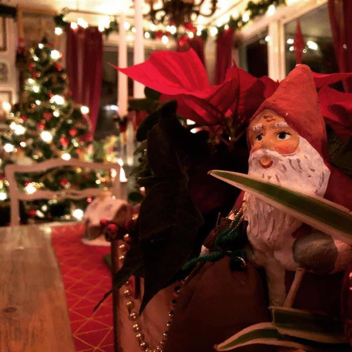 Julbuffé på caféet 1:a advent