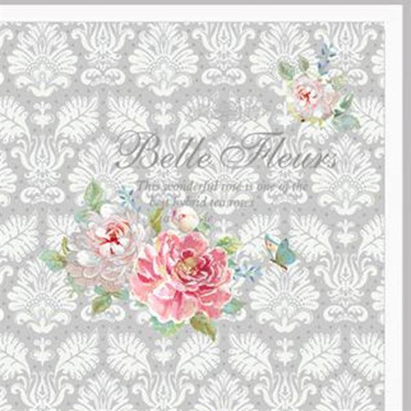 """Serviett """"Belle fleur"""""""