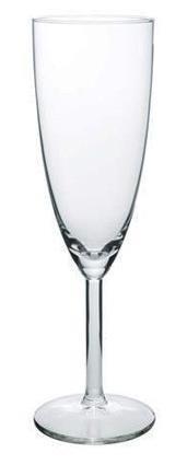 Champagneglas 15 cl utan motiv