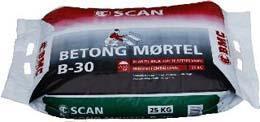 Scan Mørtel B-30 Big Bag 1000 kg
