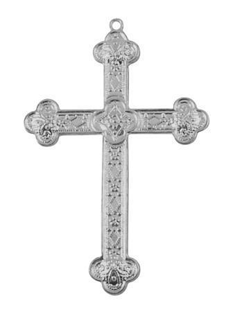 Anheng kors antikk sølvfarge