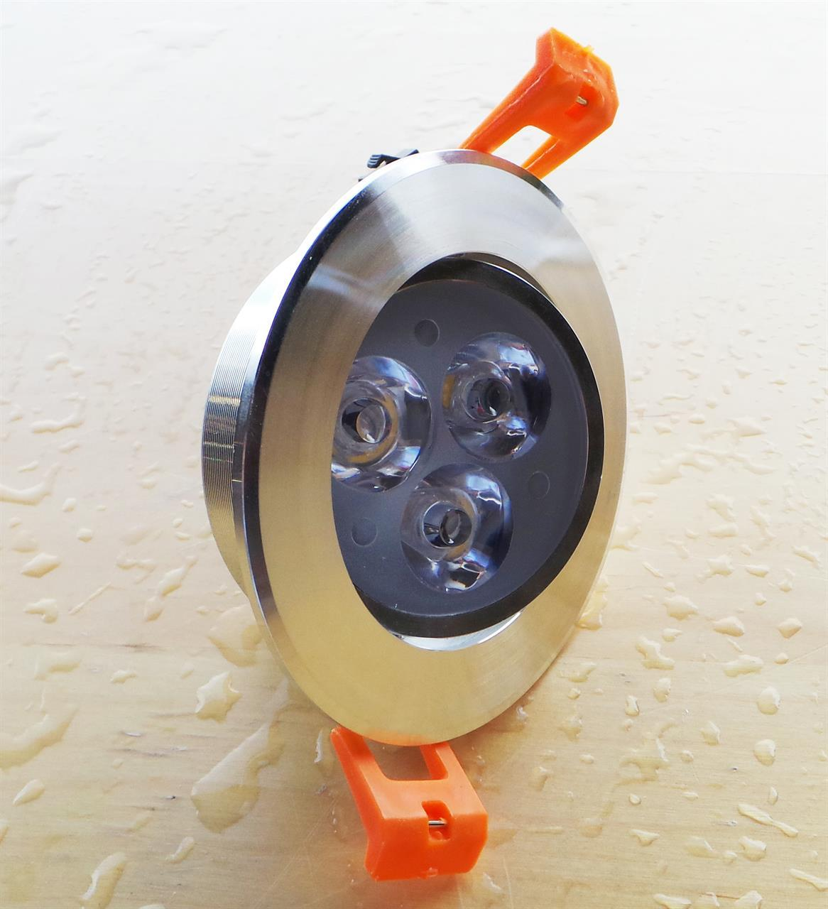 LED downlight 3W Aluminium 4500K