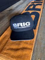 BRIG cap med 3D print: SORT eller BLÅ