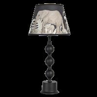 Bordslampa med elefantskärm