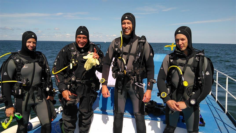 Båtdyk Advanced Open Water Diver