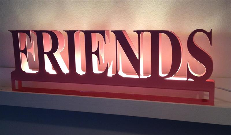 Friends - rosa