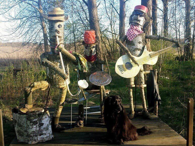 Vår trädgårdsorkester