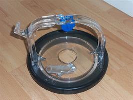 Lock plast för spannmaskin