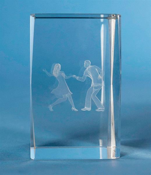 3D Glas Dans