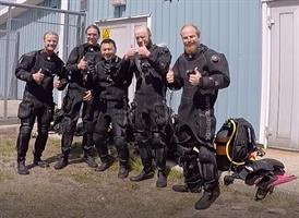 Presentkort Dry Suit Diver