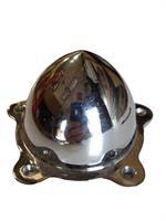 Centrum kåpa A.R. 5 hål 57mm Polerad aluminium Bullet.