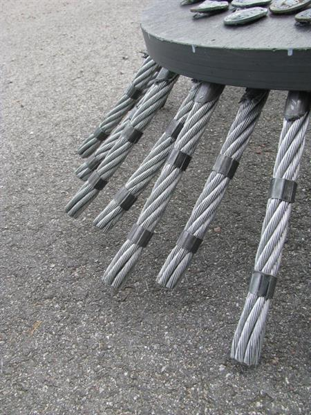 Ogräsborste G1, Wire
