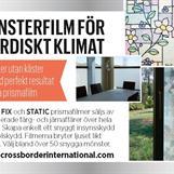 Sveriges enda äkta prismafilm- klarar även extrem kyla.