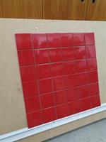 MYYTY! #021# 4m2 erä Cherry Ferrarin punainen 9,7x9,7cm