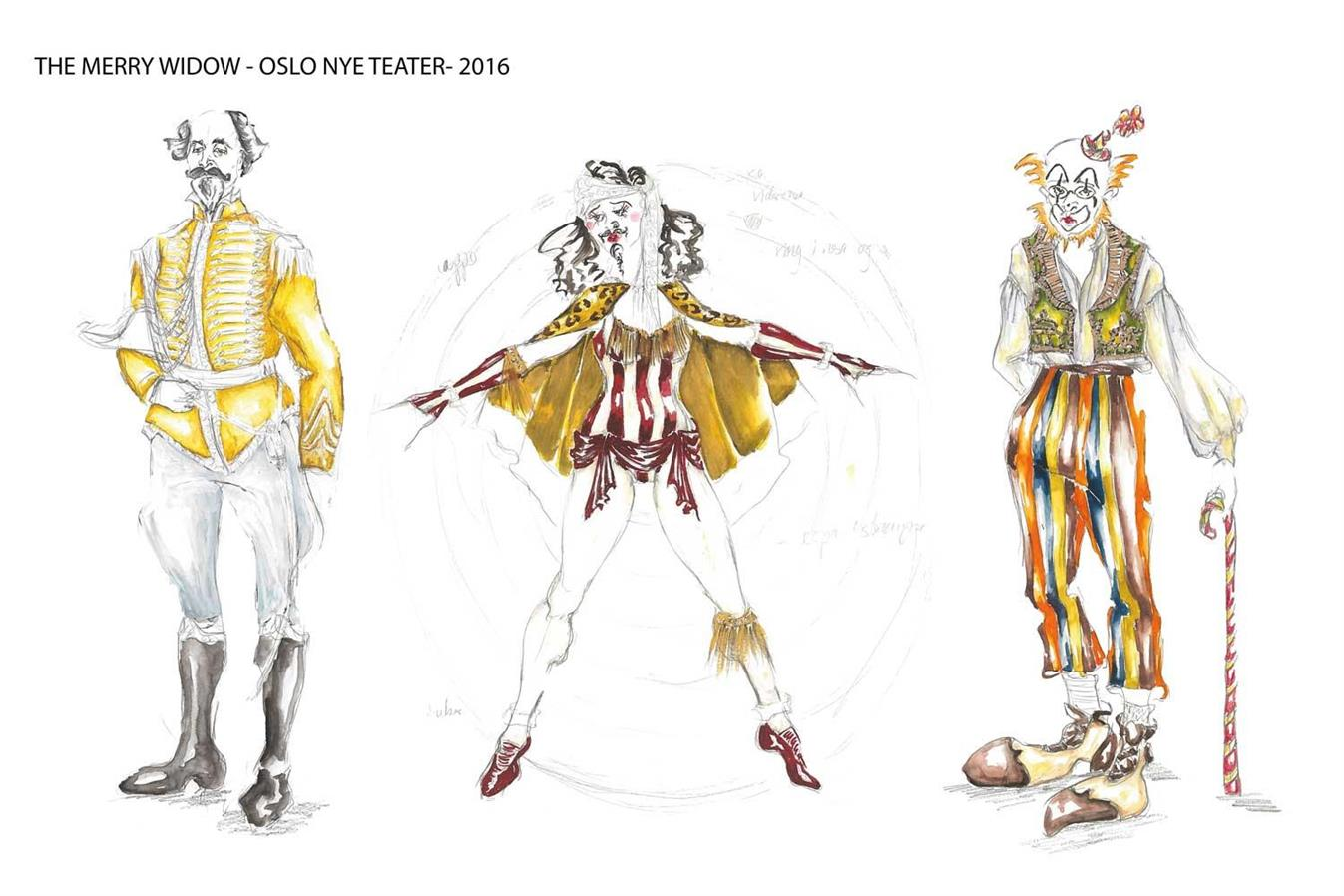 The Merry Widow - Oslo Nye Teater - Director: Svein Sturla Hugnes - Costume design: Christina Lovery