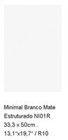 MYYTY! #L070# 28,4m2 erä Minimal Branco 33,3x50 matta