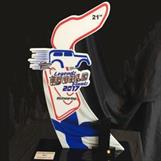 Omalla logolla kustomoidut palkinnot