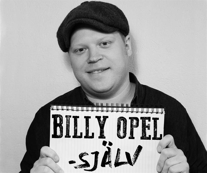 Billy Opel till vårt café den 7/3