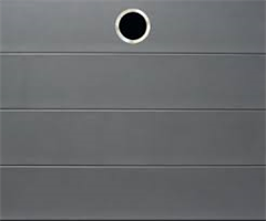 GTTM Titan Metallic grå, leddport, 500x220 cm