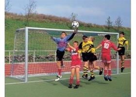 Fotbollsnät, 7-mamma, 3mm, Grönt