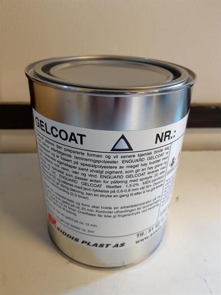Gelcoat 70261 Basengfarge lys blå 1kg