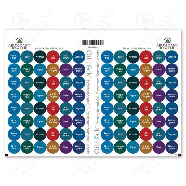 Etiketter Alla Regndroppsoljor + Digize x 8
