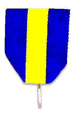 Bröstband (Kort medaljband)