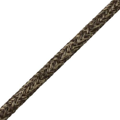 Skotlina, PES 16-fl m kärna, 6mm, Brun/Beige