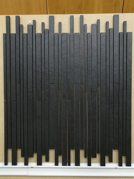 MYYTY! #O066# 7,9m2 erä Slate Black sauvamosaiikki 30x37,5cm